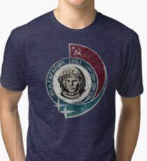 Camiseta de tejido mixto CCCP Yuri Gagarin 1961