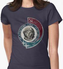 CCCP Yuri Gagarin 1961 Women's Fitted T-Shirt