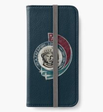CCCP Yuri Gagarin 1961 iPhone Flip-Case/Hülle/Klebefolie