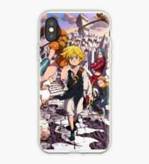 seven deadly sins coque iphone xr