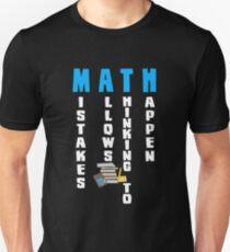 MATHEMATIK Slim Fit T-Shirt