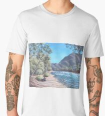 Stop by the river Men's Premium T-Shirt