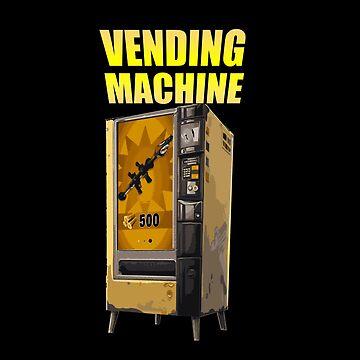 Vending machine gamer shirt by MNK78