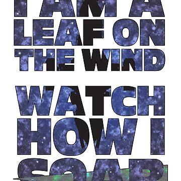 Leaf on the Wind v2.0 by jackhowse