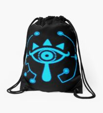 Sheikah Slate - Legend of Zelda - Breath of the Wild Drawstring Bag