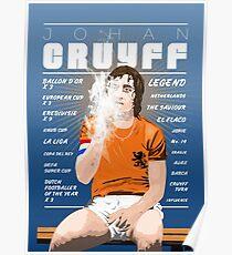 Johan Cruyff - Netherlands Poster