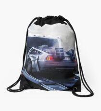 Twin Pines Mall - California - USA Drawstring Bag