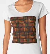 Books - Library - Books - Bookworm - Reading - Bibliophile - Book Bag - Dress - Shirt Women's Premium T-Shirt