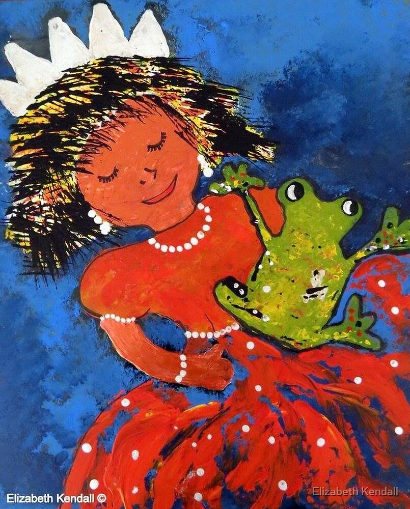 The princess and the frog by Elizabeth Kendall