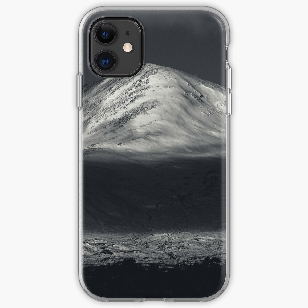 Coque iPhone «Let's go to the mountains»