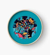 Pikmin Neon Jungle Clock