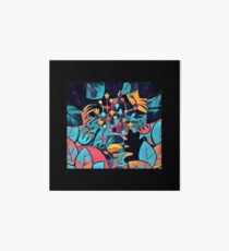 Pikmin Neon Jungle Art Board