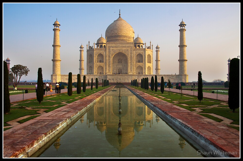 Taj in the early morn' by Shaun Whiteman