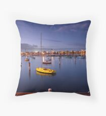St Kilda Pier Throw Pillow