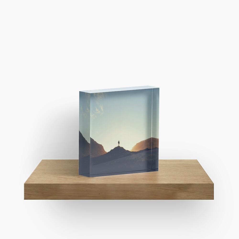 Bloc acrylique «Lost in the Highlands»