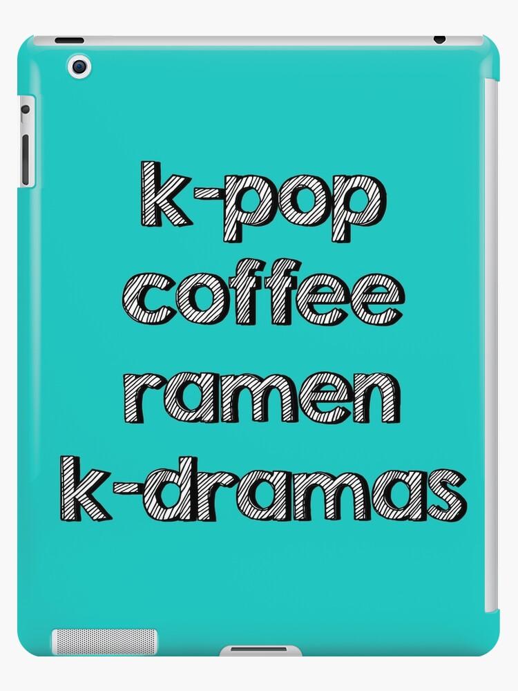 K-pop, Coffee, Ramen - Korean Dramas by Spooky Lee