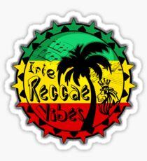 Irie reggae vibes Sticker