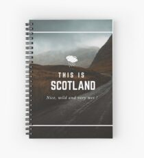 This is Scotland Cahier à spirale