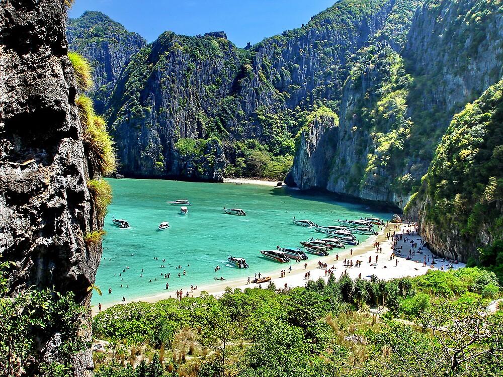 The Beach, Thailand by John Spies