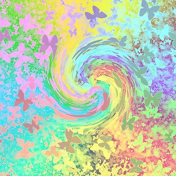 butterfly breeze by mindgoop