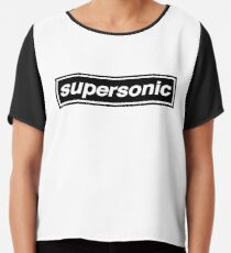 Supersonic - OASIS Band Tribute Chiffon Top