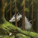Forest scene by Alexander Skachkov