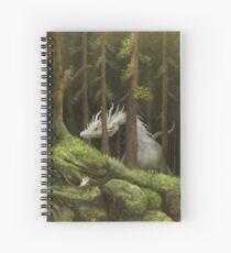 Forest scene Spiral Notebook