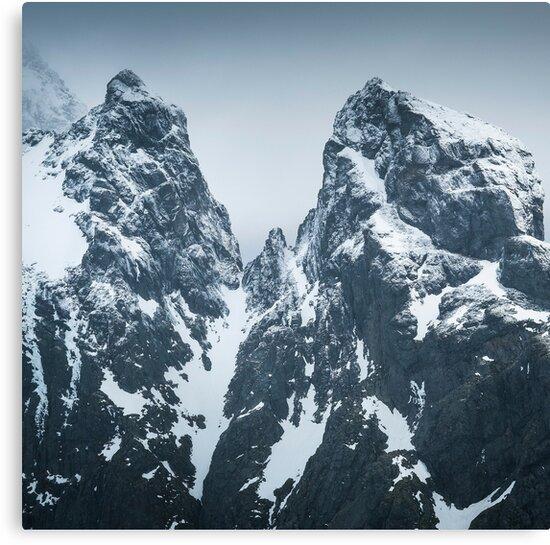 « Montagnes Norvégiennes  » par Patrice Mestari