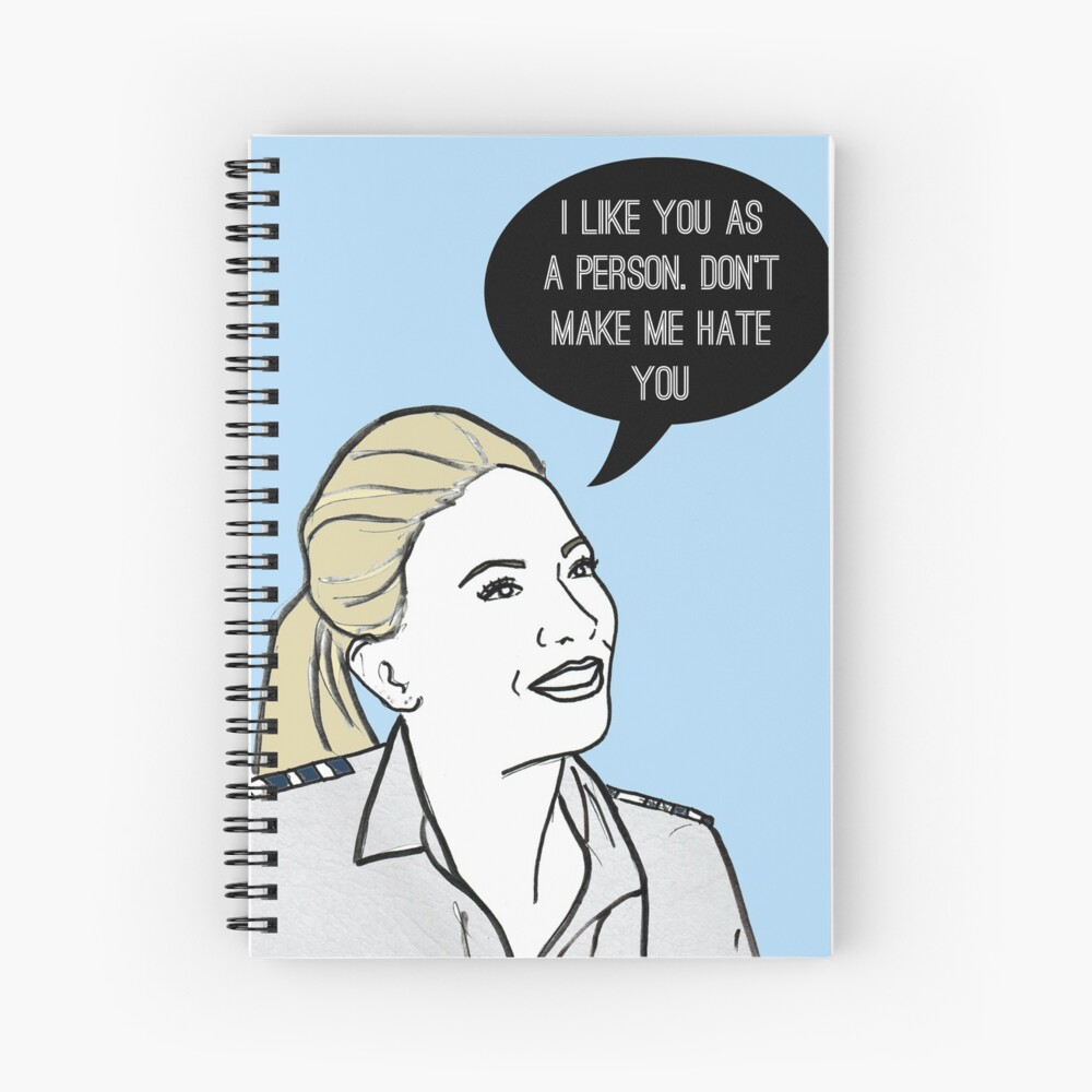 Don't make me hate you Spiral Notebook