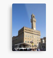 Castle in Florence Metal Print