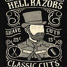Hell Razors Vintage Barbers by Wild Burro