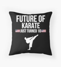 Future Of Karate Just Turned 10 For 10th Birthdays - Gift for 10 Year old Karate players Bodenkissen