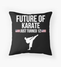 Future Of Karate Just Turned 12 For 12th Birthdays - Gift for 12 Year old Karate players Bodenkissen