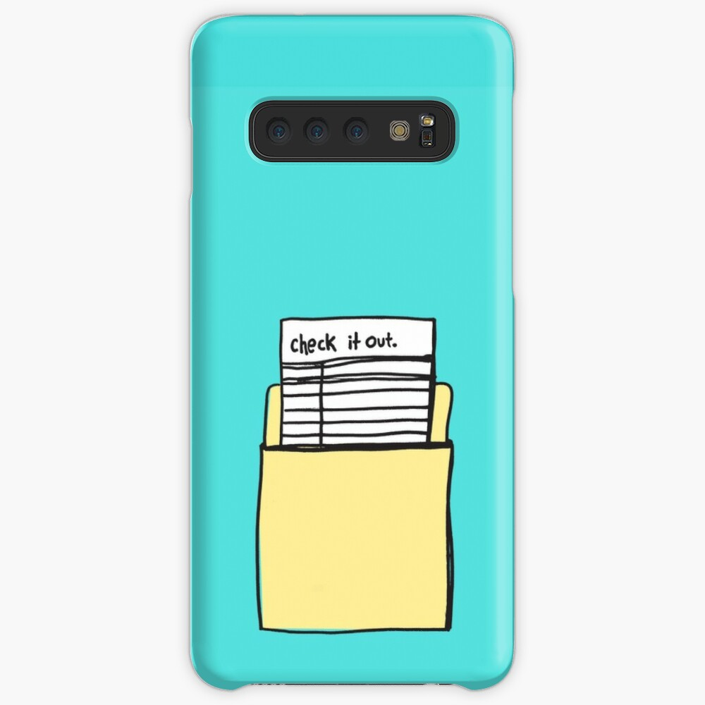 Check it Out Case & Skin for Samsung Galaxy
