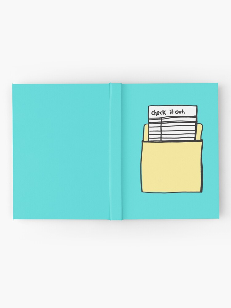 Alternate view of Check it Out Hardcover Journal