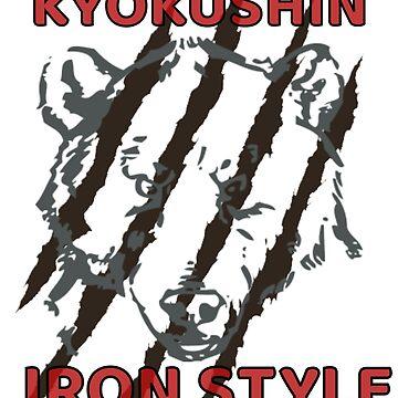 Kyokushin karate japanese iron style by BacksDesign