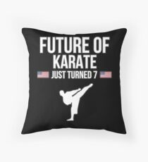 Future Of Karate Just Turned 7 For 7th Birthdays - Gift for 7 Year old Karate players Bodenkissen