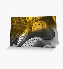 Sieve Sculpture Greeting Card