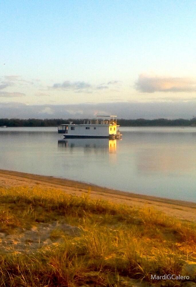 Broadwater Gold Coast Aust.,We;ll camp here tonight ! by MardiGCalero