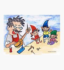 The shoemaker and the elves Photographic Print