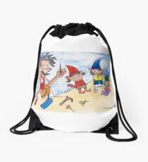 The shoemaker and the elves Drawstring Bag
