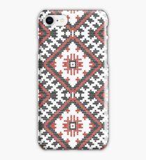 Ukrainian national ornaments iPhone Case/Skin