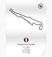 Schaltung Paul Ricard Poster