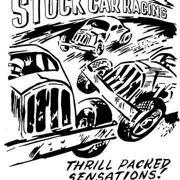 Stock Car Racing; Thrill Packed Sensations by stoopidstu