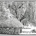 Gardeners hut at Bressingham Gardens in Norfolk UK by lesquirt