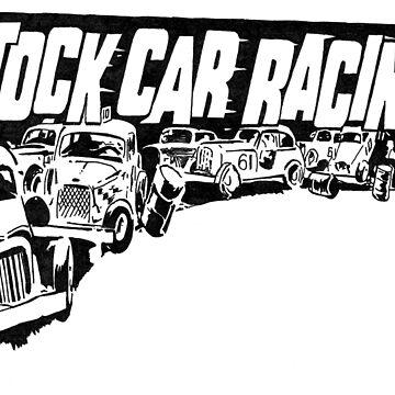 Stock Car Racing by stoopidstu