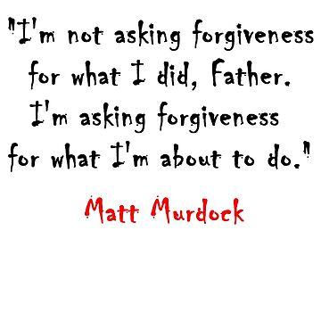 A quote from Matt Murdock by Alrescha