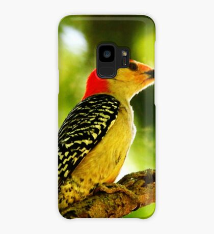 Male Red-bellied Woodpecker Case/Skin for Samsung Galaxy