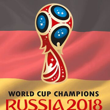 Germany - Russia World Cup 2018 Champions by StefanArtist