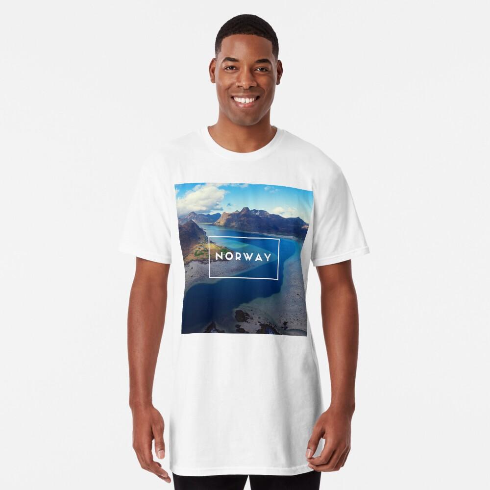 T-shirt long «Norway»